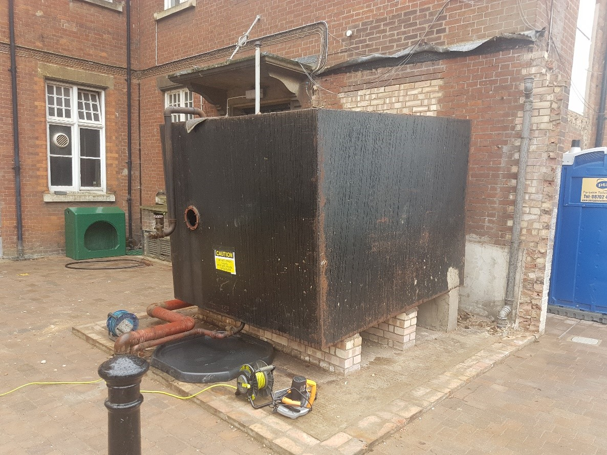 Commercial Waste Oil & Fuel Removal