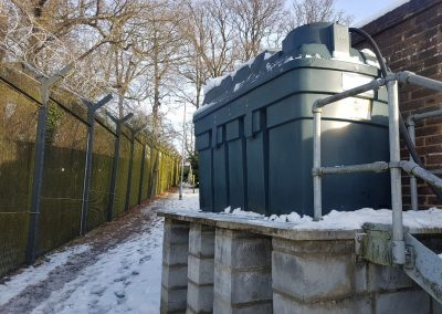 Waste Oil and Plastic Tank Collection from Northwood HQ
