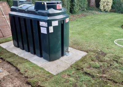 Heating Oil Tank Removal and Replacement Northampton 2021